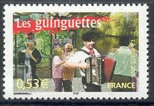 STAMP / TIMBRE FRANCE NEUF N° 3770 ** LES GUINGUETTES / ACCORDEON