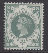 SG 211 1/-   Grey Green K40 (2) in very fine and fresh very lightly mounted mint