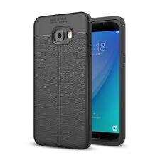 CUSTODIA COVER CASE GOMMA SILICONE TPU PER Samsung Galaxy C7 Pro SMG-229