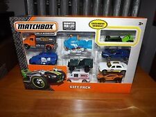 MATCHBOX, 9 VEHICLE GIFT PACK, H2O TRUCK, MAIL TRUCK TAXI, NIB 2014
