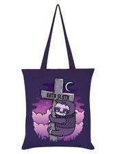 Goth Sloth Purple Tote Bag 38 x 42cm