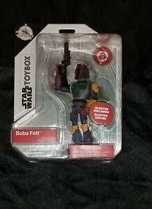 """ToyBox Boba Fett 5"""" Figure Disney Star Wars New • Mint In Box!"""