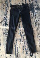 Zara Trafaluc Denim Collection Women's Dark Wash Slim Leg Jeans Size 8 LNUC
