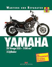 YAMAHA XV Virago 535-1100 cm Reparaturanleitung Reparatur-Buch Reparaturhandbuch