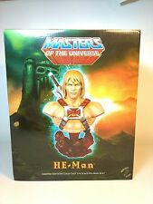MOTU Masters of the Universe He-Man Collectible Bust Tweeterhead Mattel