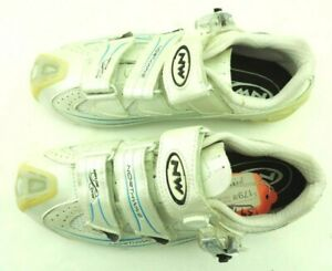 Northwave Devine S.B.S. Women's Cycling Shoes Size 39.5 US 7.25 White & Blue