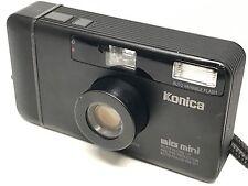 【EXC++++】Konica Big Mini BM 301 Black 35mm Point Shoot Film Camera from Japan 58
