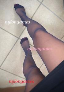 Un Joli Collant Noir A Sweet Black Pantyhose