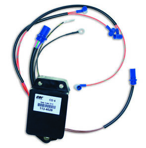 Johnson / Evinrude CDI Power pack  4Cyl   85 to 115hp  1989 to 1998 Models