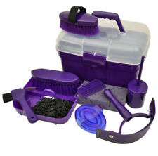 Roma Ultimate Grooming Kit 10 Piece Horse Grooming Set - Purple New