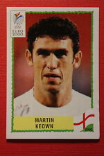Panini EURO 2000 N. 80 ENGLAND KEOWN TOP MINT WITH GREEN BACK