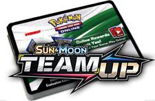 50x TEAM UP Sun & Moon Codes PTCGO Pokemon TCG Online Booster Codes SENT FAST!!