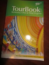 AAA TOUR BOOK GUIDE KENTUCKY OHIO AND WEST VIRGINIA 2013 USED
