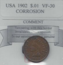 **1902** USA, Indian Head, Small One Cent,