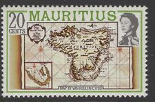 MAURITIUS SG531Aw 1978 20c DEFINITIVE WMK CROWN TO LEFT OF CA MNH