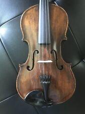 Antique French Violin Barbet & Granier 1887
