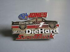 Pj Jones #1 Diehard Super Truck Series Nascar Racing Hat Pin
