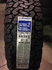 4 New LT 265 70 17 LRC 6 Ply BFGoodrich All-Terrain T/A KO2 Tires