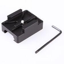 Metal Aluminum Gun Rail Mount for GoPro HD HERO 4 3 3+ 2 Camera Picatinny Side