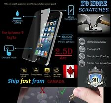 2.5D REAL 9H Premium Tempered Glass For Apple iphone SE 5 5s 5C Screen Protector