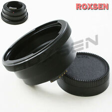 AF confirm Pentacon 6 Kiev 60 Lens to Nikon F mount Adapter D4 D600 D800 D5200