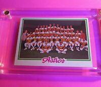 1978 TOPPS Baseball #112 ASTROS TEAM CARD NmMt (High Grade!) Unmarked Sharp!