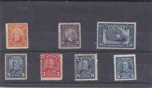 Canada Mint 1927-1935,#141//221 Assortment MLH