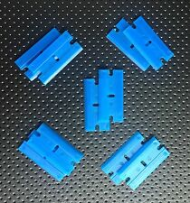 Plastic Razor Blades 100 Pack Scraping Cutting Trimming Detailing Sticker rz014