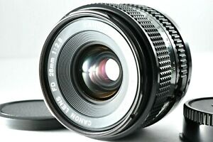 [Near Mint] Canon New FD 28mm f/2.8 Wide Angle MF Prime by DHL from Japan #597
