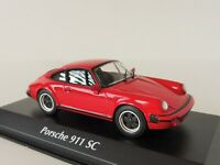 Porsche 911 SC 1979 RED 1/43 Maxichamps by Minichamps 940062021 G-Modell