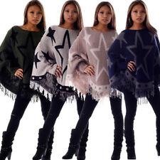 Damen-Pullover & Strickware ohne Verschluss Sterne Größe 42