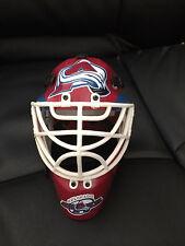 Colorado Avalanche Mini Goalie Mask Riddell Collectible