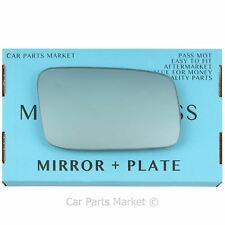 For Volvo s70 v70 1996-2000 Right Driver side Blue wing mirror glass +plate