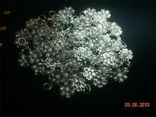 Wholesale Lot # 211 Flower Pewter Charm As Pendant Earring Key Chain Bracelet