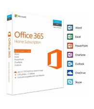 Microsoft Office 365 Home Subscription | 5 Devices | 1 Year | PC/Mac - New