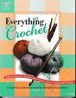 Everything Crochet | Annie's Attic 871109 Sweater Pillow Socks Bag Afghan NEW!