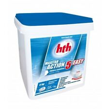 Chlore multiaction HTH Maxitab Action 5 Easy galets 200 g. - 5 kg 5 kg