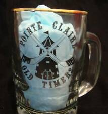 POINTE CLAIRE OLD TIMERS XV TOURNAMENT TOURNOI 1984 VINTAGE HOCKEY BEER MUG EUVC