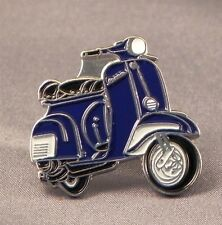 """SCOOTER /""""VESPA CUT OUT EAGLE/"""" RED ENAMEL PIN BADGE"""