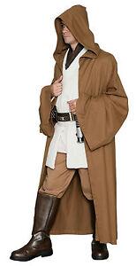 marrón claro Jedi - Excelente Calidad Star Wars Disfraz capa Desde Reino Unido