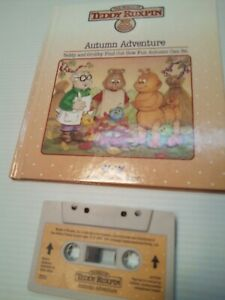 """Teddy Ruxpin Book And Tape """"Autumn Adventure"""" Ships free!"""