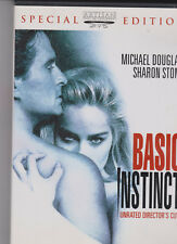BASIC INSTINCT SPECIAL EDITION MICHAEL DOUGLAS SHARON STONE