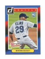 2014 Donruss The Rookies #83 Roenis Elias Seattle Mariners rookie card