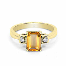 18 Carat Yellow Gold Engagement Fine Rings