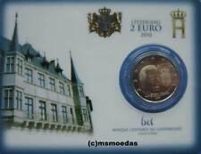 Luxemburg 2 Euro Gedenkmünze 2010 Wappen Coincard commemorative coin BU