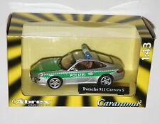 Cararama - Porsche 911 Carrera S Polizei Die Cast Model Car Scale 1:43