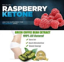 GREEN Coffee Bean Extract & chetone del lampone dieta pillole perdita di peso pillole