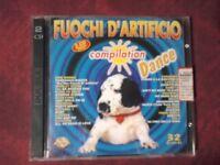 COMPILATION- FUOCHI D'ARTIFICIO DANCE-LATINO. DOPPIO CD