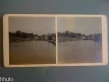 STC096 Ceres Gota Canal Sweden stereoview photo STEREO
