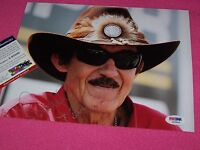 "RICHARD PETTY ""THE KING"" NASCAR RACING 8X10 AUTOGRAPH Photo1 PSA CERTIFIED"